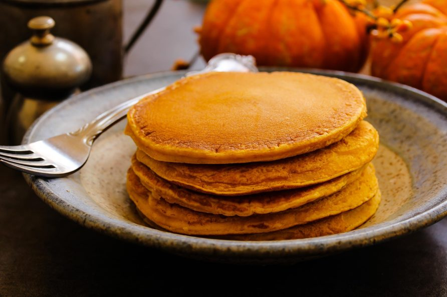 Pumpkin griddle cakes