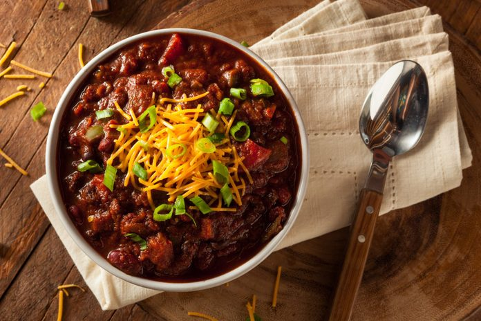 Canadian Maple Turkey Chili