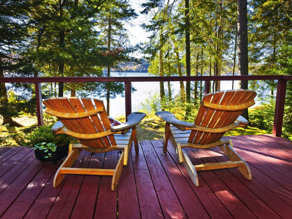 Cottage deck chairs