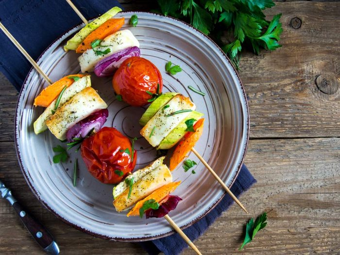 Take the spilling out of grilling