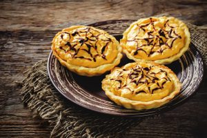 Fresh Pumpkin Tartlets