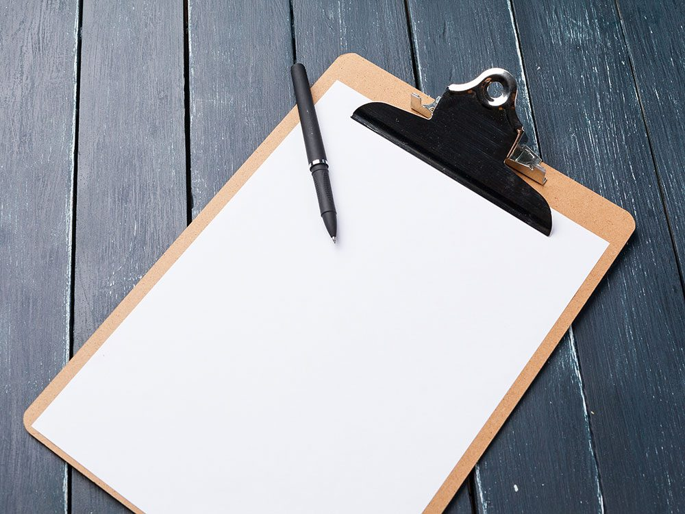 6 clever new uses for clipboards