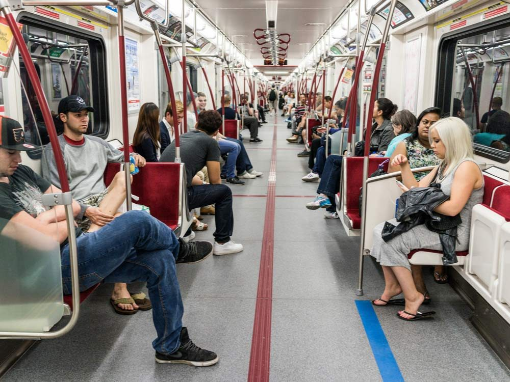 TTC train interior