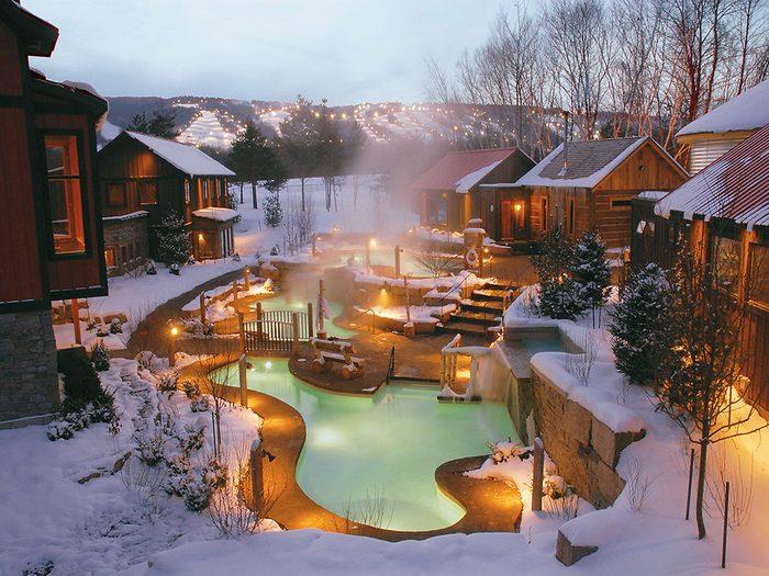 Scandinave Spa in Quebec