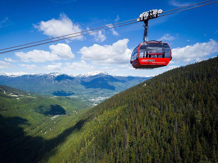 Peak 2 Peak Gondola, Whistler, BC