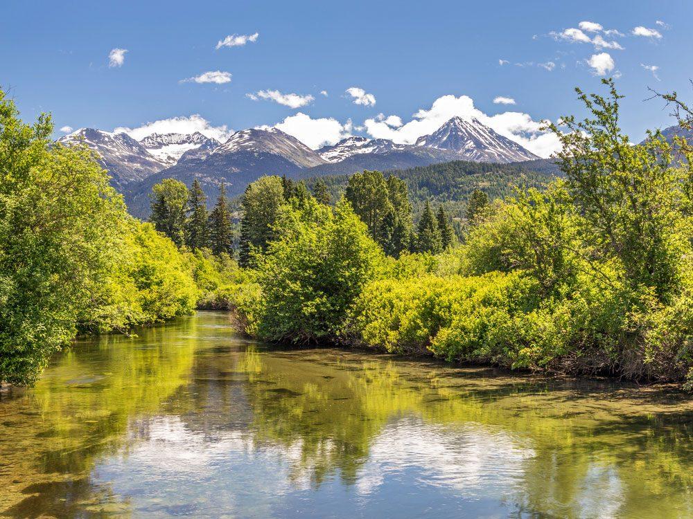 River of Golden Dreams in Whistler, BC