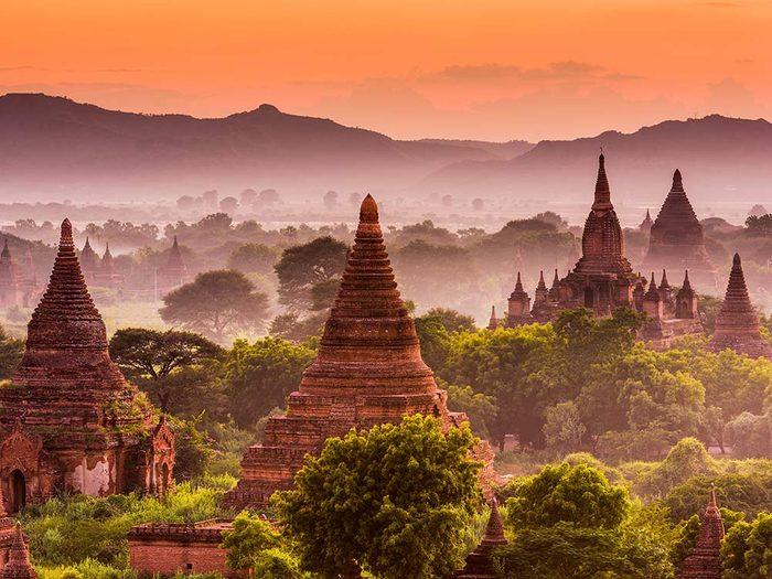 Bagan Temple in Myanmar