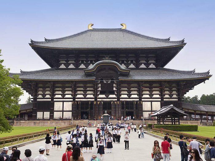 Todaijji Temple in Japan