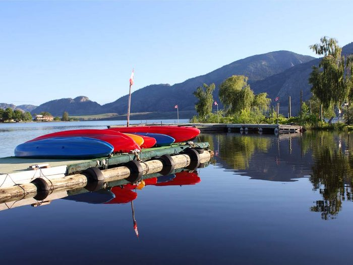Osoyoos, British Columbia is one of the most beautiful Canadian hot spots