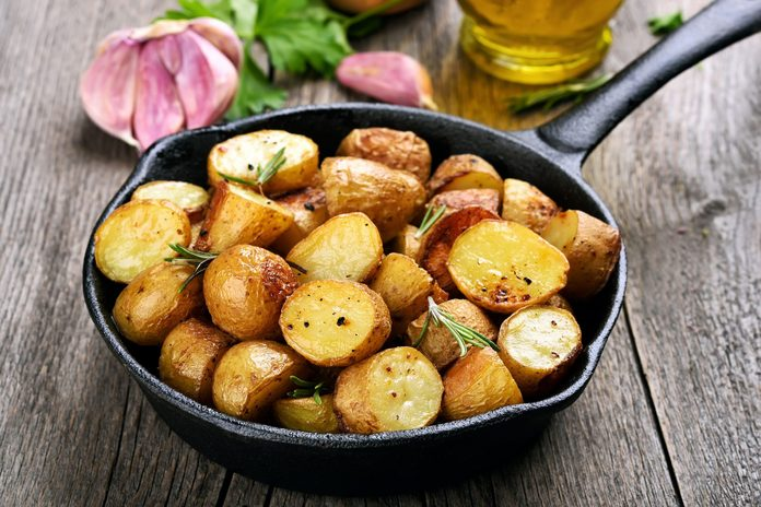 Lemon Garlic Potatoes
