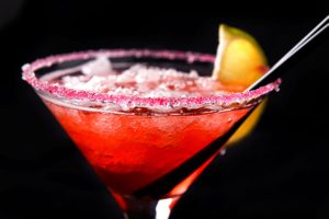Watermelon-Mango Rum Punch