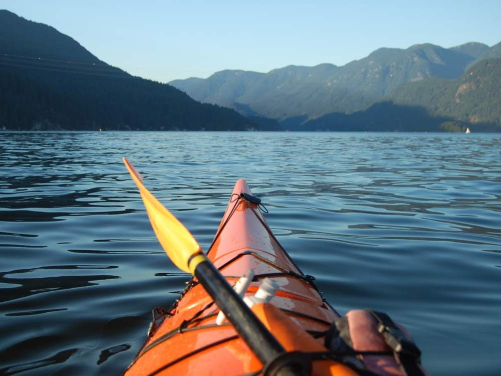Kayaking in Vancouver