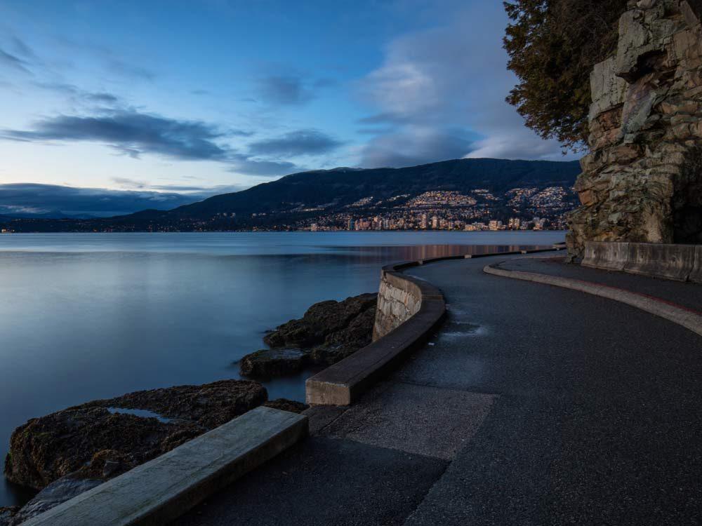 British Columbia seawall