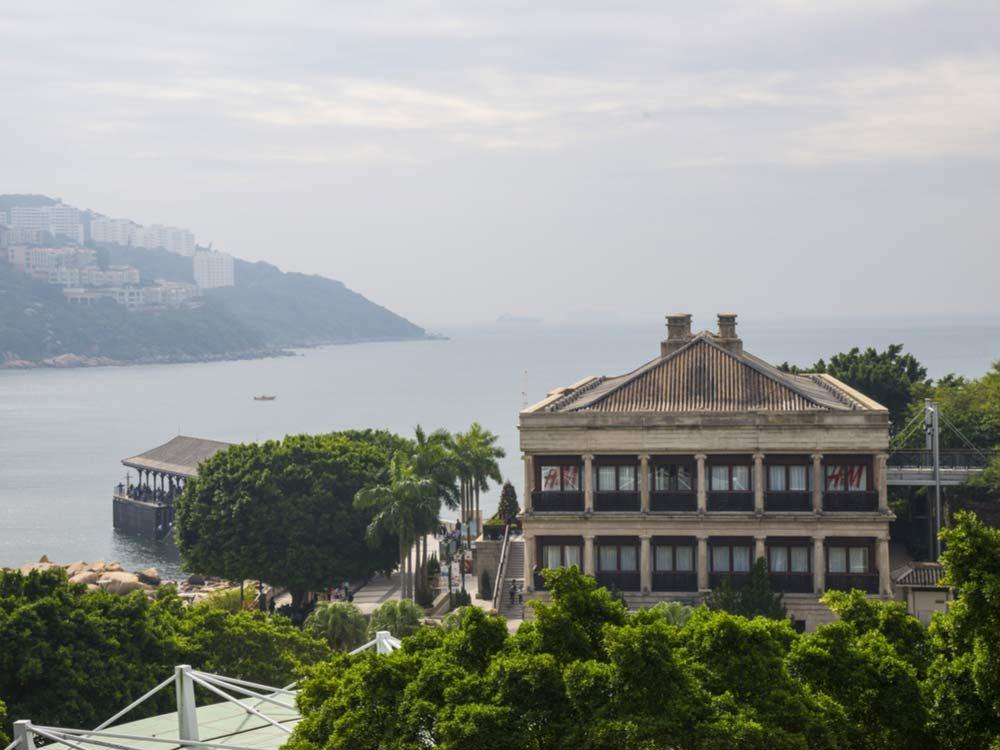 Murray House in Hong Kong