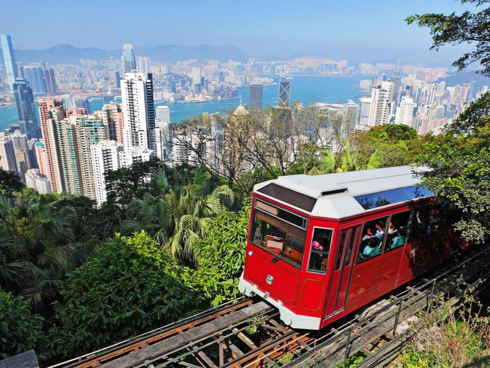 Hong Kong's Peak Tram