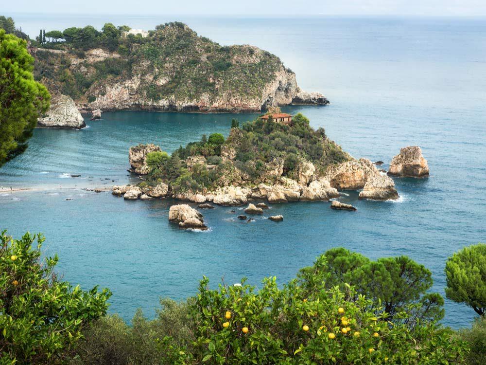 Isola Bella in Sicily, Italy