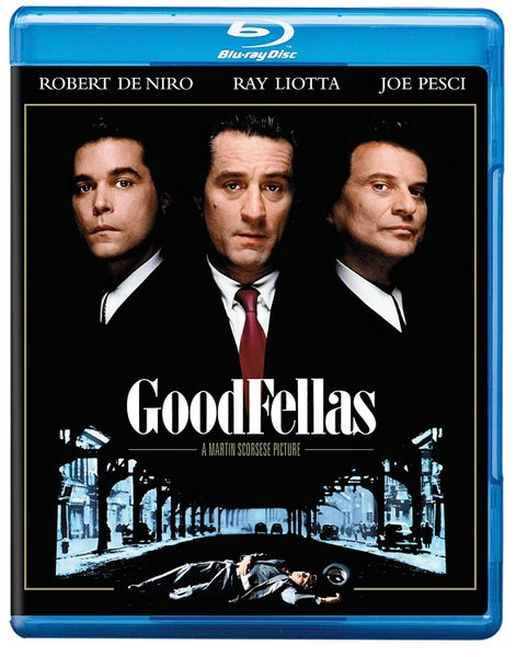 Blu ray cover of Goodfellas