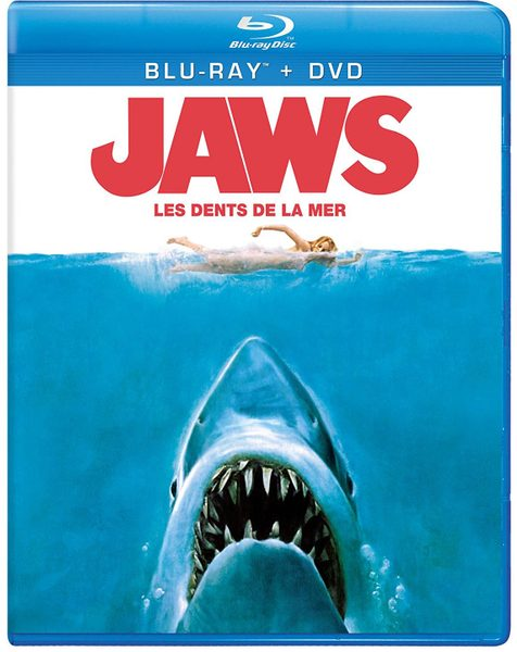 Blu ray cover of Jaws