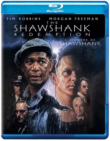 Blu ray cover of The Shawshank Redemption