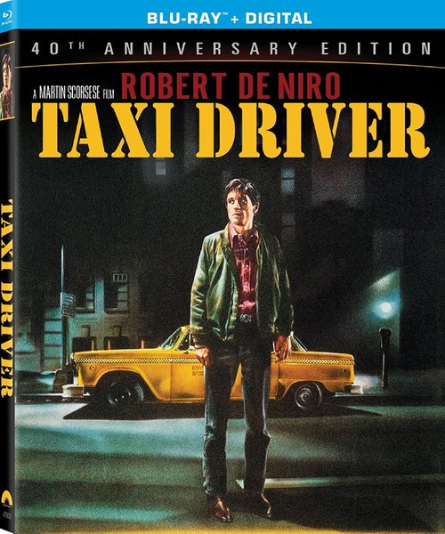 Blu ray cover of Taxi Driver