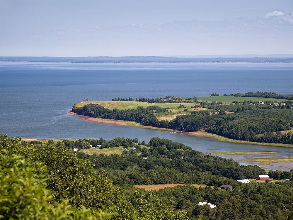 Annapolis Valley, Bay of Fundy, Nova Scotia