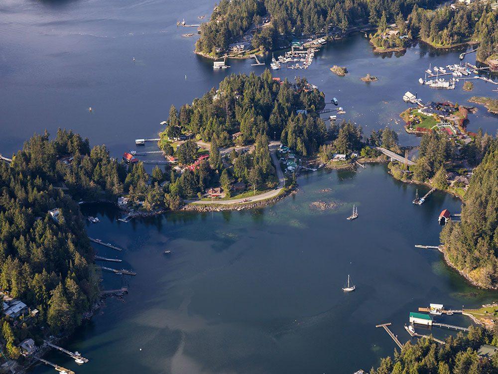 Beaver Island, Sunshine Coast, B.C.