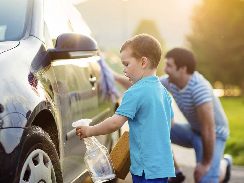 Car wash tricks