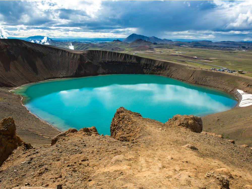 Lake Myvatn Area in Iceland