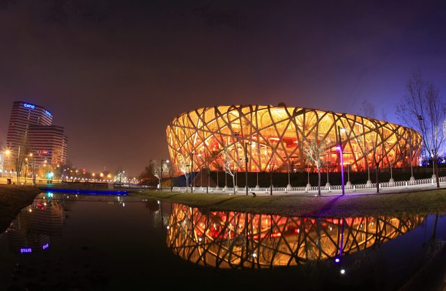 Olympic Stadium in Beijing, China