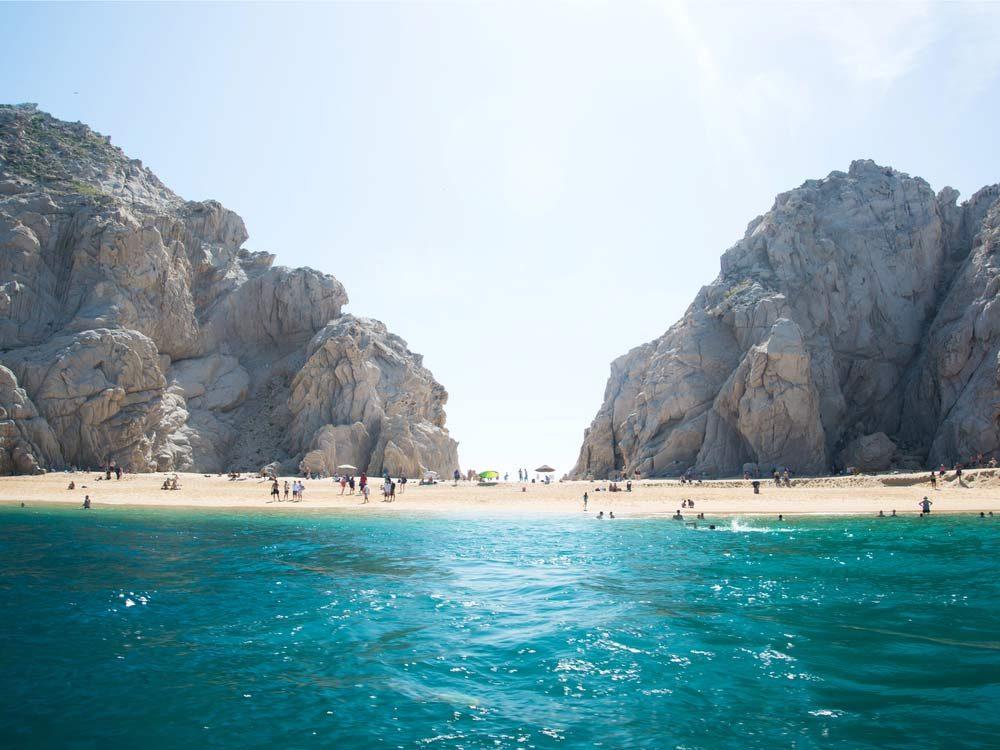 Lover's Beach in Cabo San Lucas, Mexico
