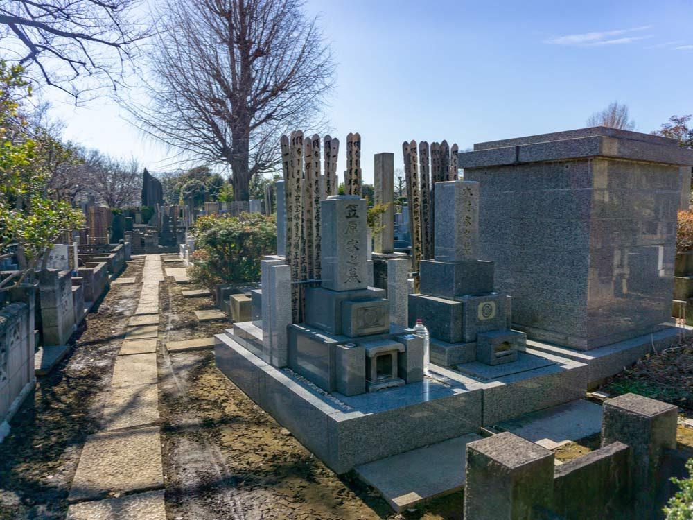 Yanaka Cemetery in Tokyo