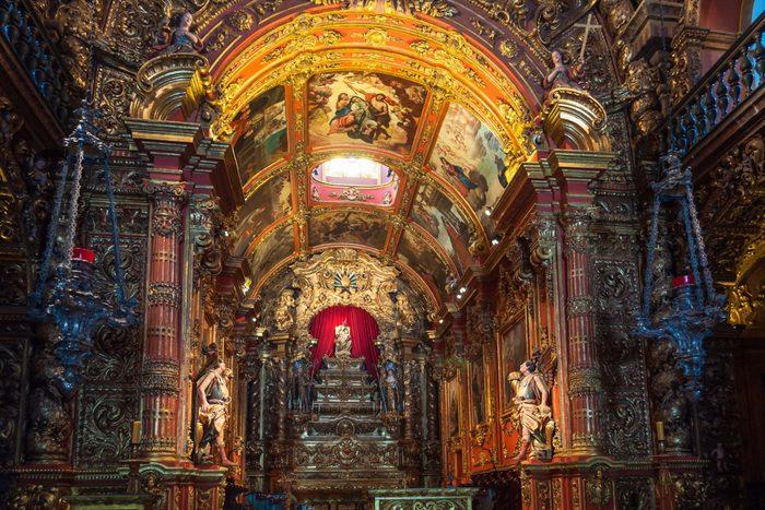 Mosteiro de Sao Bento in Rio de Janeiro