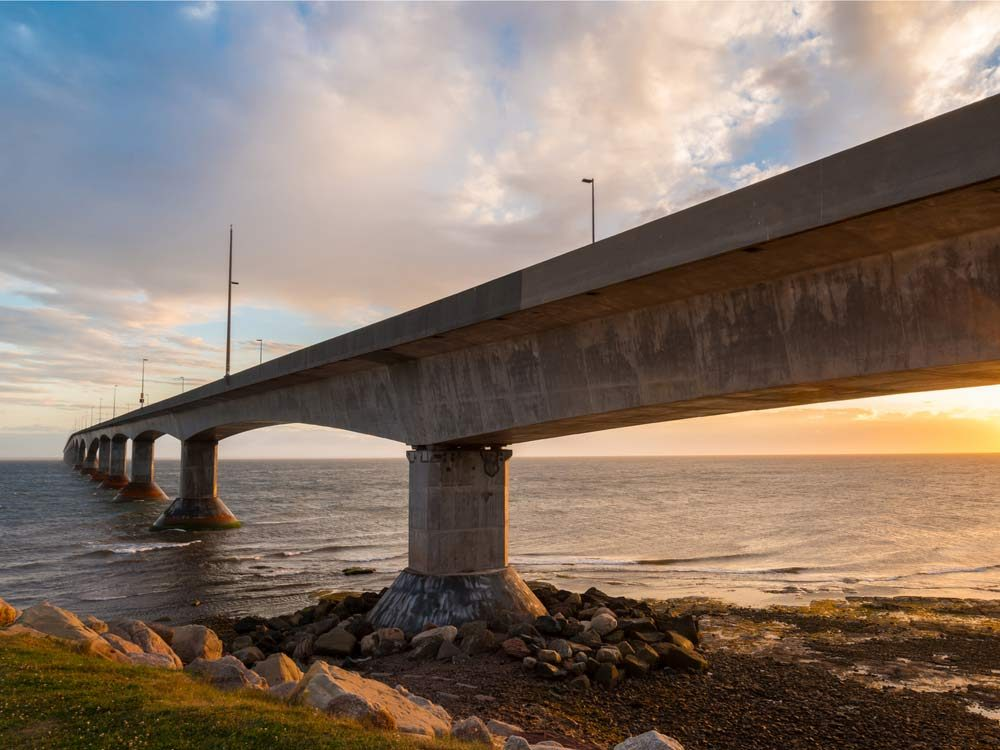 Confederation Bridge in Prince Edward Island