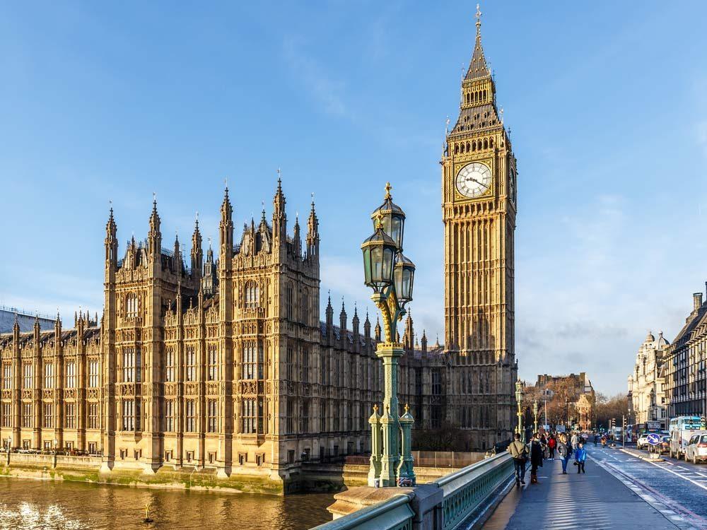Big Ben Tower in London, England