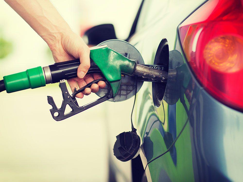 Tricks to save on gas