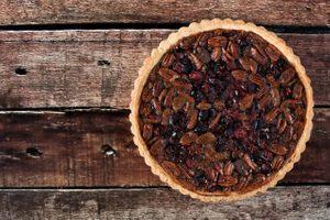 Cranberry and Pecan Pie