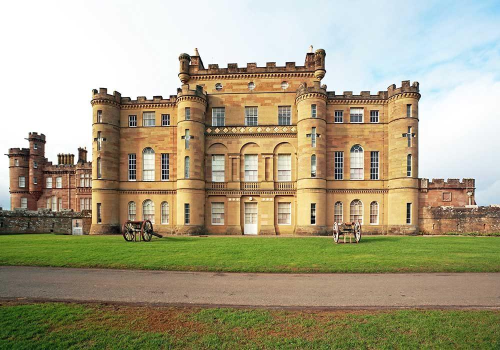 Culzean Castle in Scotland