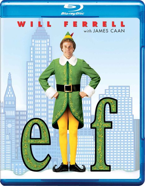 Blu-ray cover of Elf (2003)