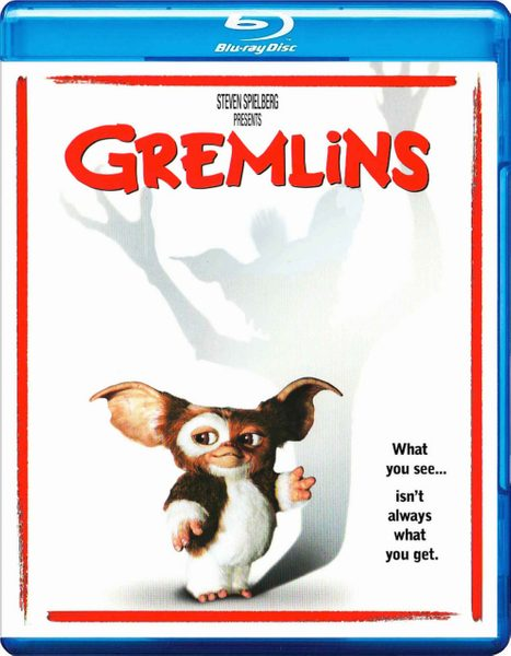 Blu-ray cover of Gremlins (1985)