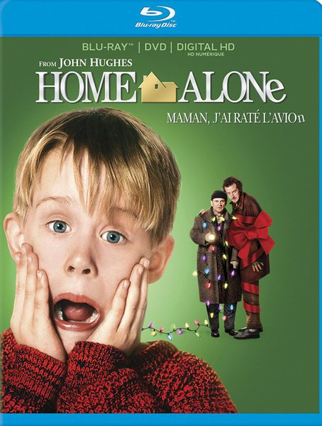 Blu-ray cover of Home Alone (1990)