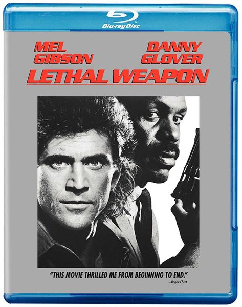 Blu-ray cover of Lethal Weapon (1987)