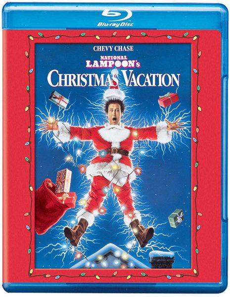 Blu-ray cover of National Lampoon's Christmas Vacation