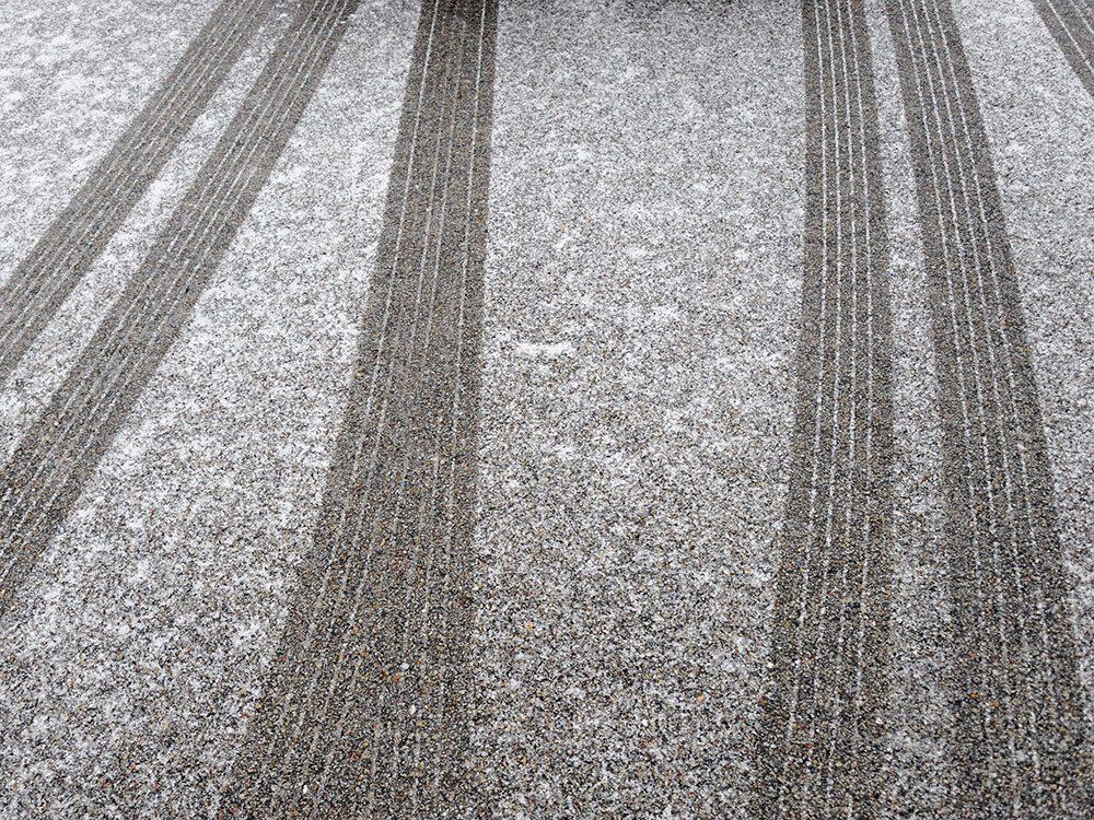 Heat mats can de-ice your driveway