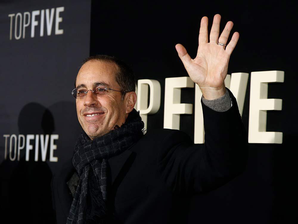 Comedian Jerry Seinfeld