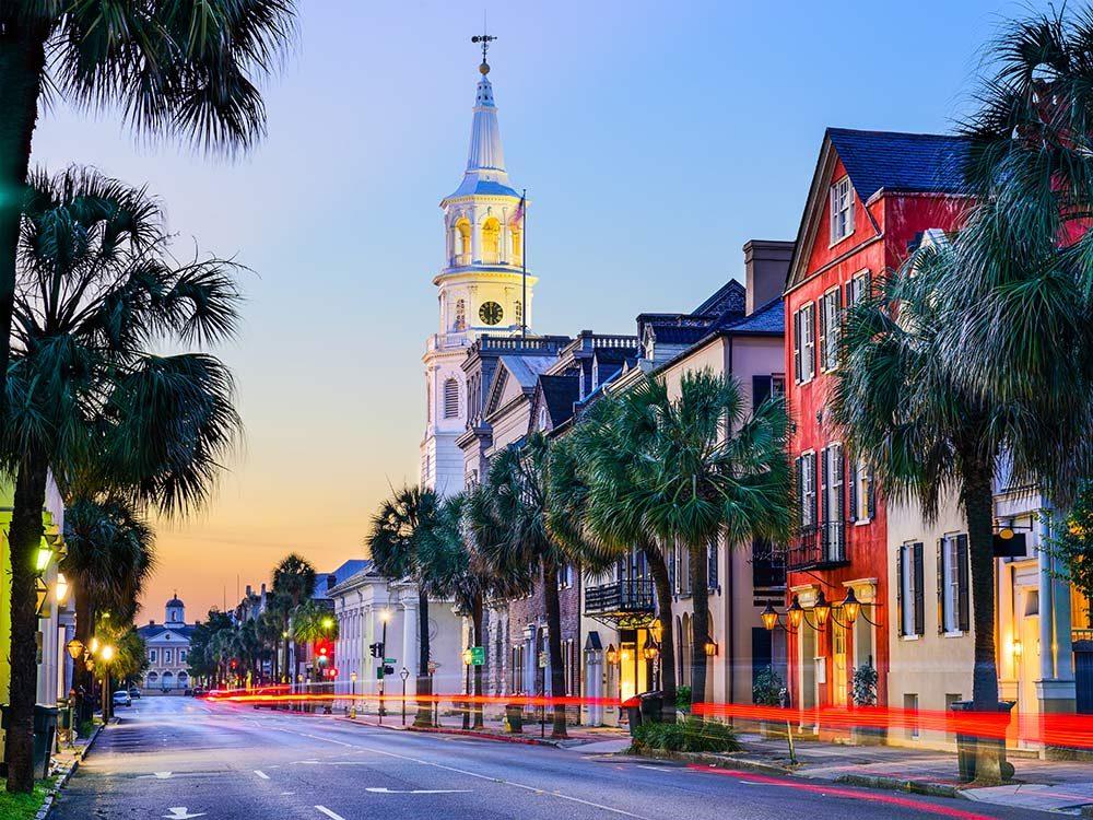 French quarter in South Carolina