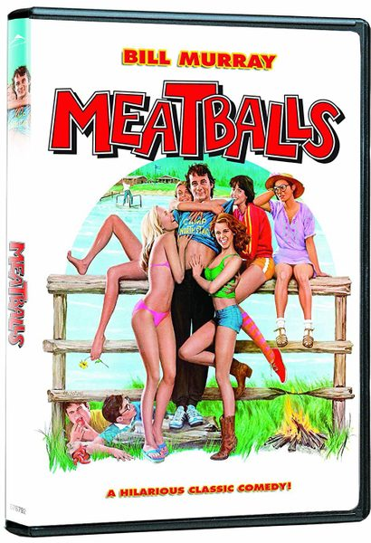 DVD cover of Meatballs