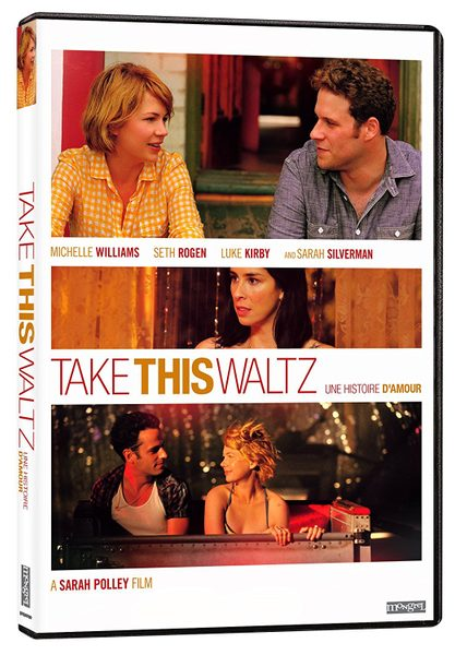 DVD cover of Take This Waltz