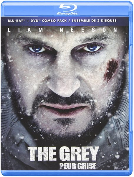 Blu ray cover of The Grey