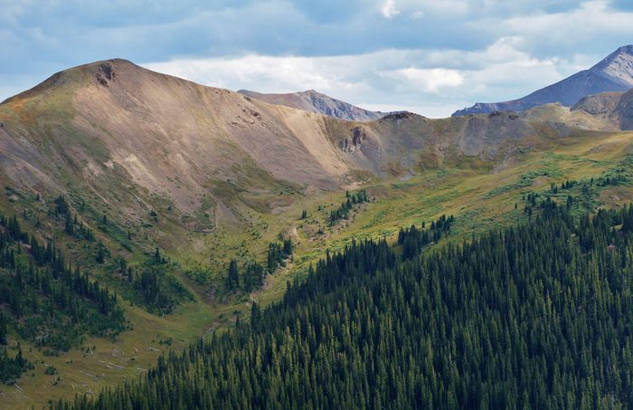 Colorado's Independence Pass is more than 12,000 feet above sea level
