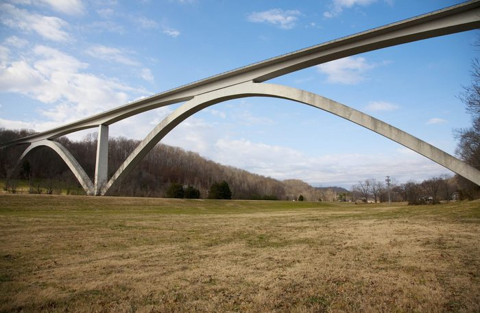 Natchez Trace has only a limited number of access points between Nashville, Tennessee